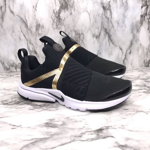hot sale online 98d75 31dea NEW Nike Presto Extreme Black Gold White NWT